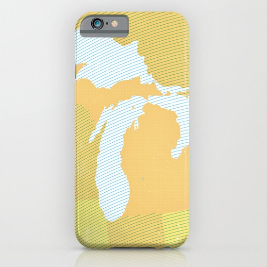 The GREAT LAKES of NORTH AMERICA iPhone & iPod Case