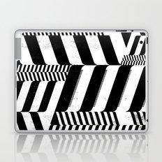 Black Interior & White Design Laptop & iPad Skin