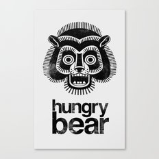 hungry bear Canvas Print