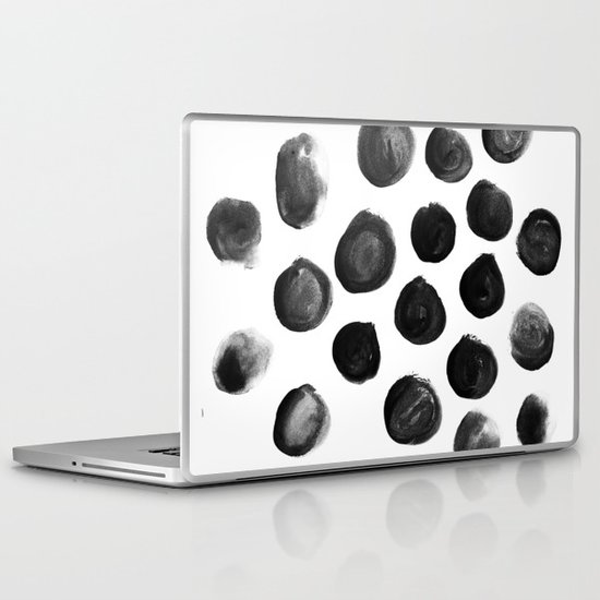 Large Blotches Laptop & iPad Skin
