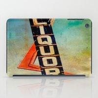 Vintage Liquor Sign iPad Case
