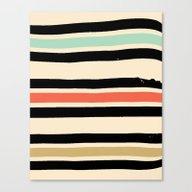 Jeremy Blake's Visit To … Canvas Print