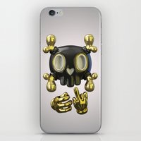 Crossbone SkullToon iPhone & iPod Skin