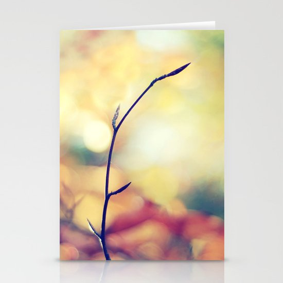 Autumn Palette Stationery Card