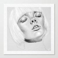 + DARK PARADISE + Canvas Print
