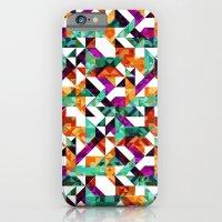 Aztec Geometric VI iPhone 6 Slim Case