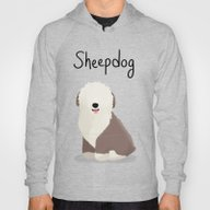 Sheepdog - Cute Dog Seri… Hoody