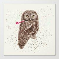 Mr.Owl III Canvas Print