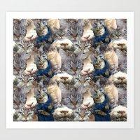 Loki Forever Art Print