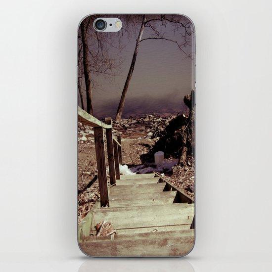 Walking The Murky Waters iPhone & iPod Skin