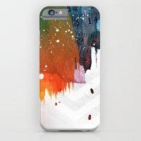iPhone & iPod Case featuring splat by jastudio