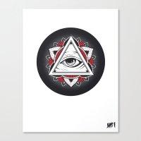 Don't Trust... Canvas Print