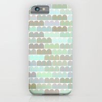 iPhone & iPod Case featuring blue things behind the sun by cardboardcities
