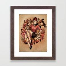 Duh! Framed Art Print