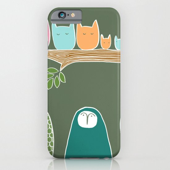 Sleepy Birds iPhone & iPod Case