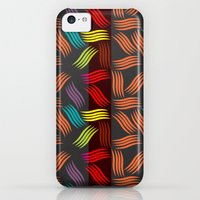 iPhone 5c Cases featuring Pattern Vivid by famenxt