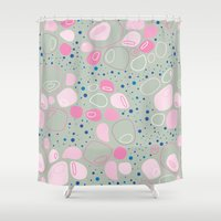 BP 22 Pebbles Shower Curtain