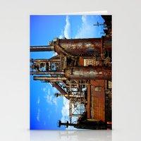 Bethlehem Steel Blast Fu… Stationery Cards