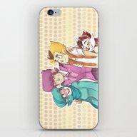 Mystery Team iPhone & iPod Skin