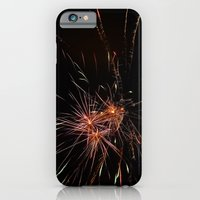 iPhone & iPod Case featuring Fireworks4 by CosmosDesignz