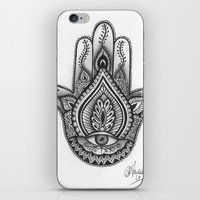 Hamsa Hand Illustration … iPhone & iPod Skin