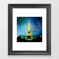 J'aime Paris! Framed Art Print