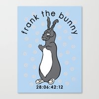 Don't Pat the Bunny Canvas Print