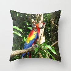 In a parralel universe Throw Pillow