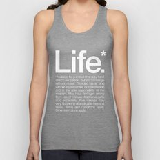 Life.* Available for a limited time only. Unisex Tank Top