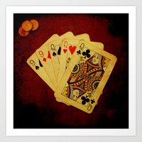 Ful de Damas (Dirty Poker) Art Print