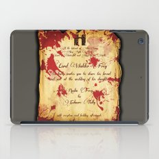 Red Wedding iPad Case