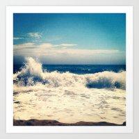 SOUTH BEACH SALT Art Print