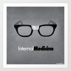 internal medicine Art Print