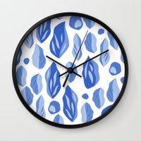 Feuille Wall Clock
