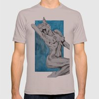 Titties And Kitties Mens Fitted Tee Cinder SMALL