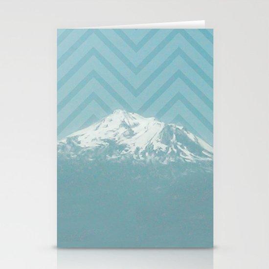 Portland Snowcaps Stationery Card