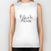 Film Is Alive Biker Tank