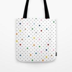 Pin Points Polka Dot Tote Bag