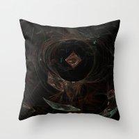 Eye Of Chaos Throw Pillow