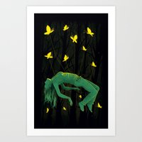 In Deep Sleep Art Print