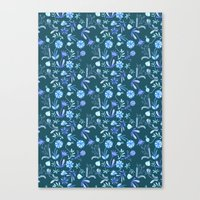 Floral Morning Canvas Print