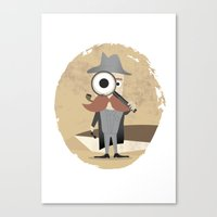 Mr. Detective Canvas Print