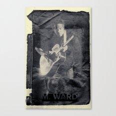 M. Ward Canvas Print