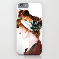 iPhone & iPod Case featuring Red Head by Erik Krenz