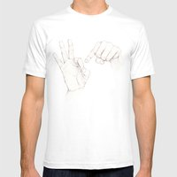 Innuendo   Mens Fitted Tee White SMALL