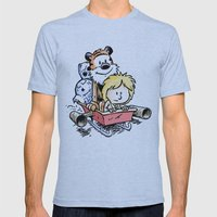 Not The Droids! Mens Fitted Tee Athletic Blue SMALL