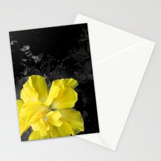 Yellow Silk Stationery Cards