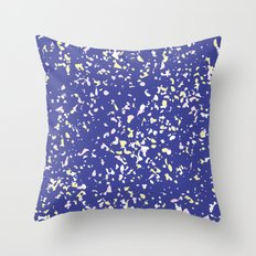 Paint Splash Speckle Terrazzo Throw Pillow