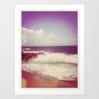 Winter Waves Art Print