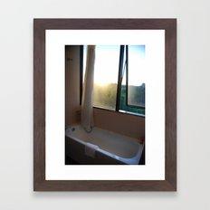 Light Bath Framed Art Print